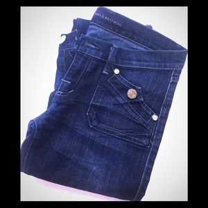 Rock & Republic Flare Scorpion Denim Jeans